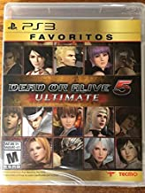 Dead Or Alive 5 ULTIMATE Favorites for PS3 Bilingual Edition Favoritos