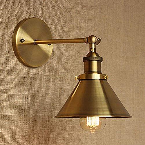 Lampade wandlamp wandlamp wandlamp wandlamp creatief antiek vintage industrieel smeedijzer B met Att