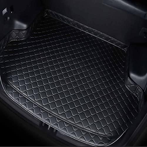 Coche Maletero Bandeja Cuero Alfombrillas para Mercedes-Benz GLK200 2009-2016, Impermeable Prevención Rayones Palet Alfombrilla, Auto Interiores Modelado Decoración Accesorios