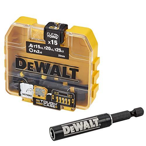 Dewalt DT70522T-QZ DT70522T-QZ-Juego de puntas de atornillado Impact Torsion (16 piezas), Único