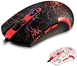 Redragon M701 Lavawolf 3500 DPI Laser Gaming Mouse for PC, 7 Programmable Buttons, Omron Micro Switches, (Black) Color: M701, Model: DS-2443, Electronics & Accessories Store