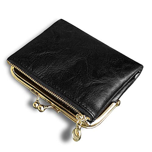 AOXONEL Womens Wallet Small Rfid Ladies Compact Bifold Leather Vintage...