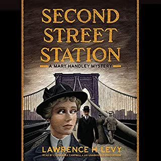 Second Street Station audiobook cover art