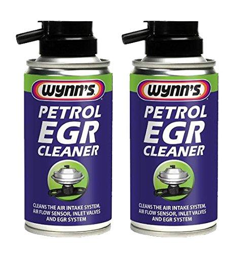 2 x Wynns Petrol EGR Cleaner 150ml