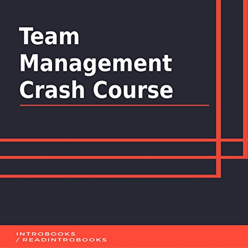 Team Management Crash Course audiobook cover art