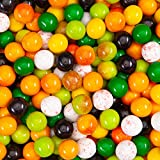 "Gumballs for Gumball Machine - Garden Berries and Fruits 25 mm 1"" Bubble Gum Balls Bulk 2.5 Pound"
