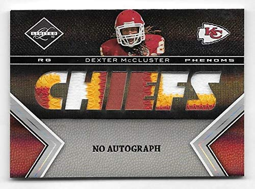 2010 Panini Limited #213 Dexter McCluster Color 2021new shipping free shipping Patch NO 3 Regular dealer AUTOG