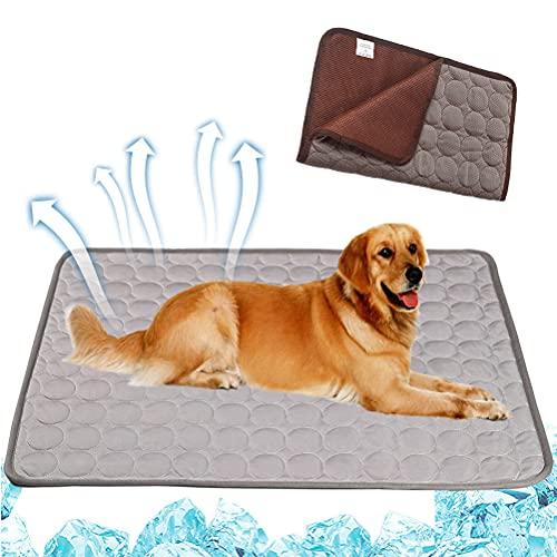 1 pieza verano perro cama pad lavable suave transpirable mascota sueño hielo seda Mat para gato pequeño mediano grande perros