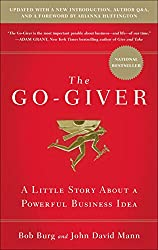The Go Giver Book by Bob Burg