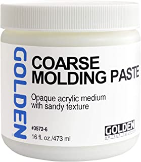 GOLDEN Acryl Med 16 Oz Coarse Molding Paste
