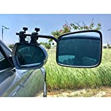Falcon Universal Mirrors, Super Steady Mirror, Set of 2, Black