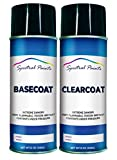 Spectral Paints Compatible/Replacement for Honda NH658P Graphite Pearl 12 oz. Aerosol Spray Paint and Clear Coat