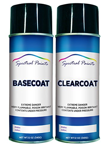 Spectral Paints Compatible/Replacement for Toyota 3T3 Ruby Flare Pearl 12 oz. Aerosol Spray Paint and Clear Coat