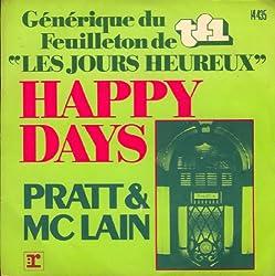 Happy days / Vinyl single [Vinyl-Single 7'']