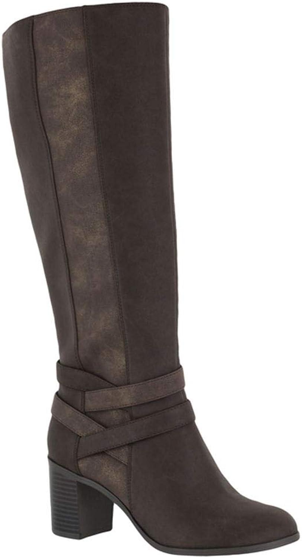 Easy Street Women's Fawn Mid Calf Boot