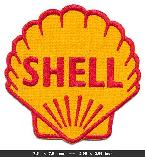 RG20 Shell Aufnäher Patches Bügelbild Auto Motorsport Rennsport Motorenöl v2