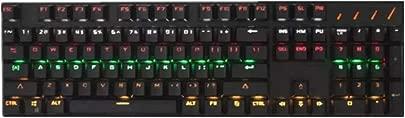 Dmmw Beleuchtete Spieletastatur verdrahtete Laptop-USB-mechanische Gef hltastatur professionelle Spieltastatur Schätzpreis : 61,84 €