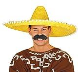 Guirca- Sombrero mexicano paja,...