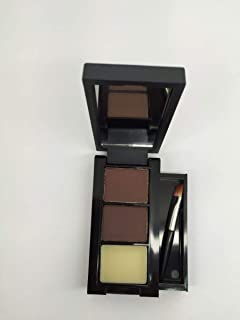 Mn cosmetics Eyebrow powder with brush color Brown and Brown