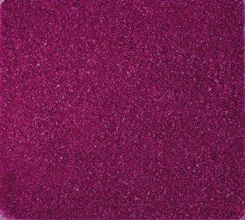 Gekleurd zand, decoratief zand gekleurd ca. 0,5 mm. 1 kg in roze FUCHSIA -10