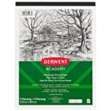 Derwent Academy Drawing Paper Pad, 40 Sheets, 9