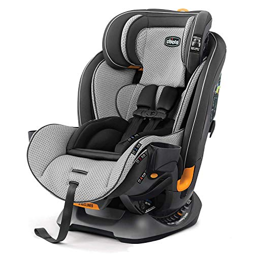 Chicco Fit4 4-in-1 Convertible Car Seat | Easiest All-in-One from Infant to Booster | 10 Years of...