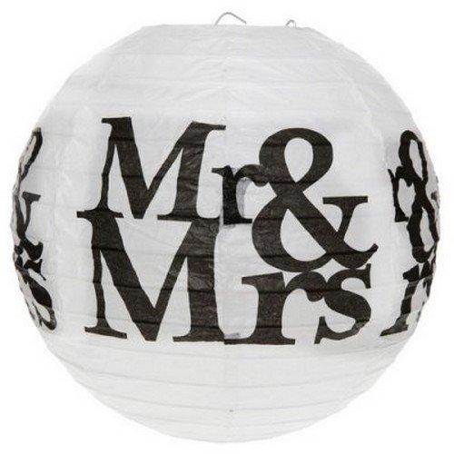 Au plaisir des yeux - 2 boules lanterne Mr & Mrs