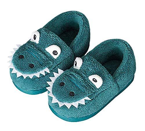 Zapatillas de Estar por Casa para Niñas Niños Dibujos Animados Zapatillas de Interior Suave Cómodo Zapatos Antideslizantes Cálido Slippers