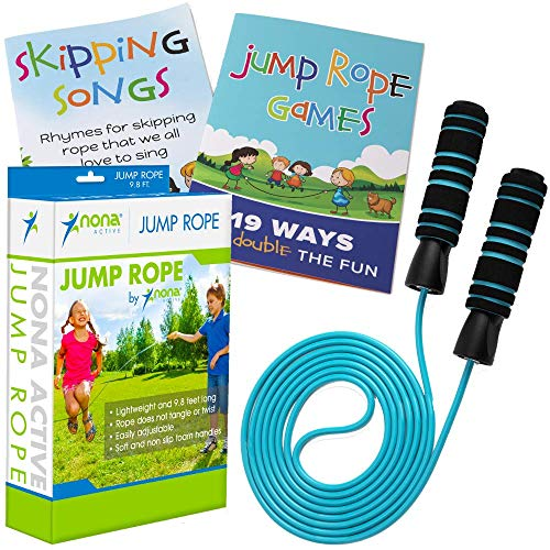 Buy Bargain Adjustable Jump Rope - for Kids and Adults - Easily Adjustable with Non Slip Handles - P...