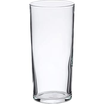 AmazonBasics Ridgecrest Coolers Glass Drinkware Set, 15.5-Ounce, Set of 6