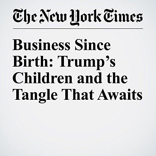 Business Since Birth: Trump's Children and the Tangle That Awaits audiobook cover art