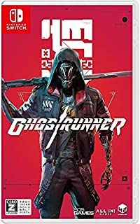 Ghostrunner(ゴーストランナー) - Switch 【CEROレーティング「Z」】 (【初回特典】オリジナルデザイン武器DLC「刀」(レッド) 封入 & オリジナルサウンドトラックCD(20曲) 同梱)