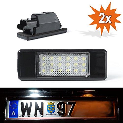 DoLED P307 LED Kennzeichenbeleuchtung mit E-Prüfzeichen Xenon Optik