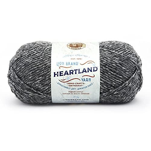 Lion Brand Yarn Company 142 g 100 Percent Acrylic Heartland Yarn Ball, Great Smoky Mountains, 136-149