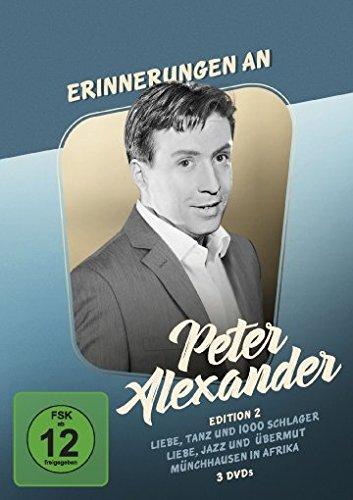 Erinnerungen an Peter Alexander - Edition 2 [3 DVDs]