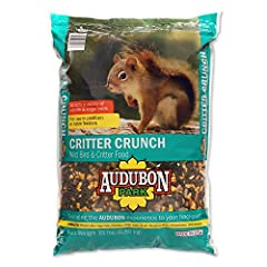 Specially blended for backyard wildlife Attracts chipmunks, squirrels, rabbits, deer, jays, quail, woodpeckers and chickadees An all natural blend of corn, black oil sunflower seeds, peanuts and whole peanuts For use in platform or table feeders Fami...