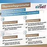 Immagine 2 airself termoigrometro analogico per interni