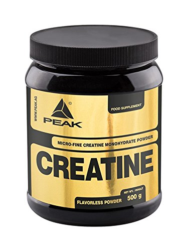 Peak 100% Creatin Monohydrat Pulver, 500 gr Dose