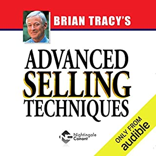Advanced Selling Techniques audiobook cover art
