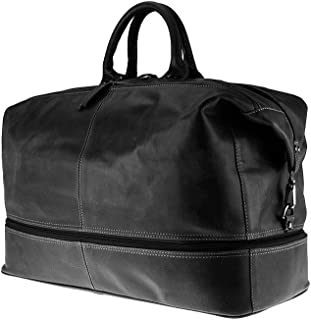 buffalo leather holdall