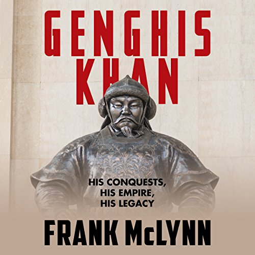 Genghis Khan audiobook cover art