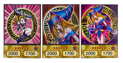 Orica Card Set: 3 Dark Magician Girl Common in Yugioh Anime Design |...