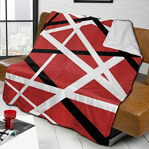 "DamaYong Fleece Blankets Van Halen The Best of Both Worlds Sofa Warm Cozy Bed Linen Microfiber Super Soft Lightweight Luxury Yoga Mats Blanket Throw Size 50x40 60x50 80x60 Inch 50""X40"""