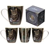 Puckator Lisa Parker MULP24 Tasse, Katzenmotiv, 8x12x10cm