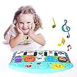 Per Pianos Kicks Bébés pour Berceau Berceau Musical Suspendu Tapis bébé Nourrisson Nouveau-né 0-12 Mois