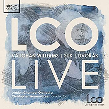 LCO Live: Vaughan Williams, Suk, Dvořák