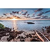 Sunset Beach Scenery Series Rompecabezas De Madera Descompresión De Alta Dificultad Juguete Intelectual Familiar Entre Padres E Hijos 500/1000/1500/2000 Piezas (Color : Partition, Size : 500 pcs)