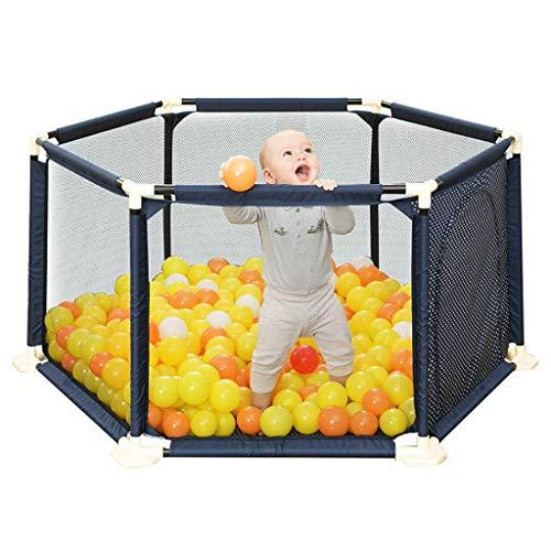 LHSUNTA Laufgitter Sicherheitszaun Baby-Laufstall Kinderzaun-Spielplatz 67cm Höhensicherung Sechseckig Kinderspielzelt Vorschulspielzeug für Babys Infant Safe Crawling