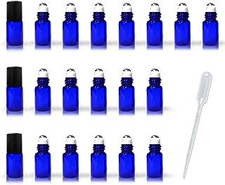 Best small blue glass bottles Reviews
