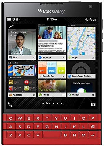 "BlackBerry Passport 11,4 cm (4.5"") 3 GB 32 GB SIM única 4G Rojo 3450 mAh - Smartphone (11,4 cm (4.5""), 3 GB, 32 GB, 13 MP, BlackBerry OS 10, Rojo)"